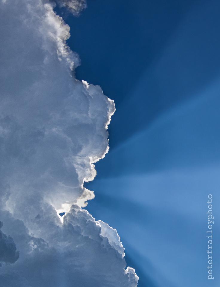Storm Cloud Blocks Sun