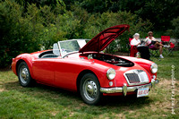 1959 Red MGA 1500cc