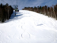 Skiing Waterville Valley